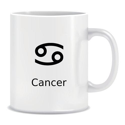 printed mug gift zodiac star sign horoscope cancer