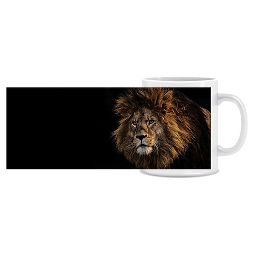 lion photo wraparound mug gift