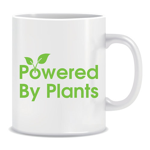 Powered By Plants, Printed Mug
