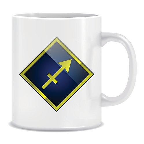 printed mug gift zodiac star sign horoscope sagittarius
