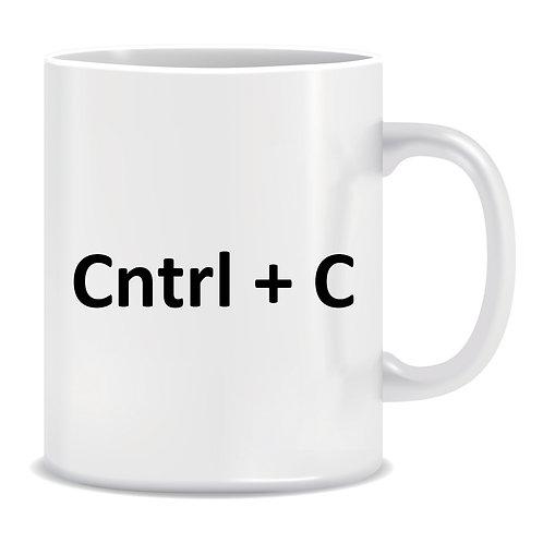 Cntrl + C, Printed Mug, Twins