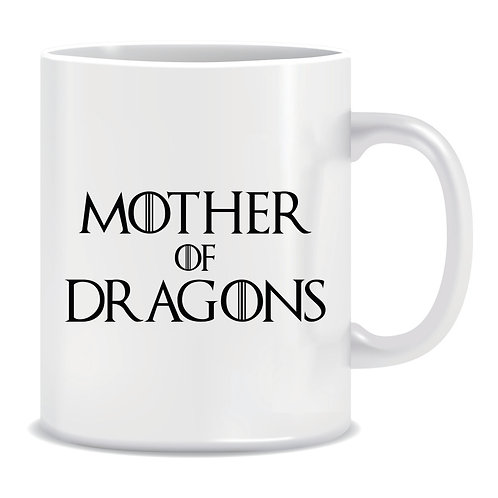 mother of dragons printed mug game of thrones