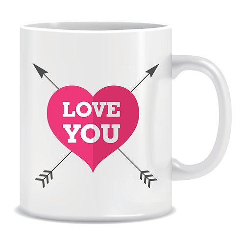 Printed Mug I Love You