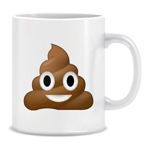 Poop Emoji Printed Mug