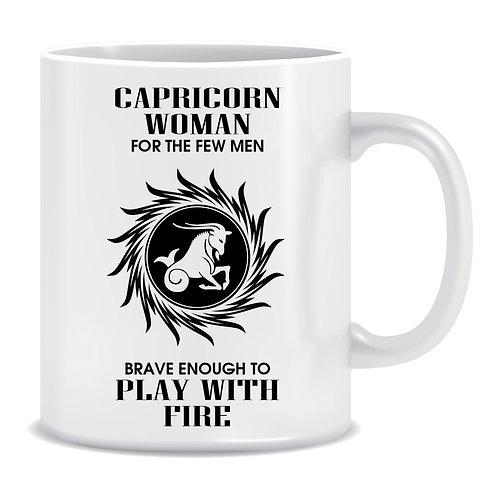 zodiac star sign funny mug capricorn woman