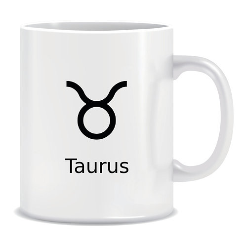 printed mug gift zodiac star sign horoscope taurus