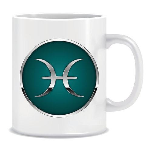 printed mug gift zodiac star sign horoscope pisces