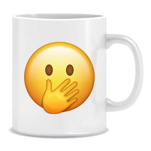 Oops Emoji Printed Mug
