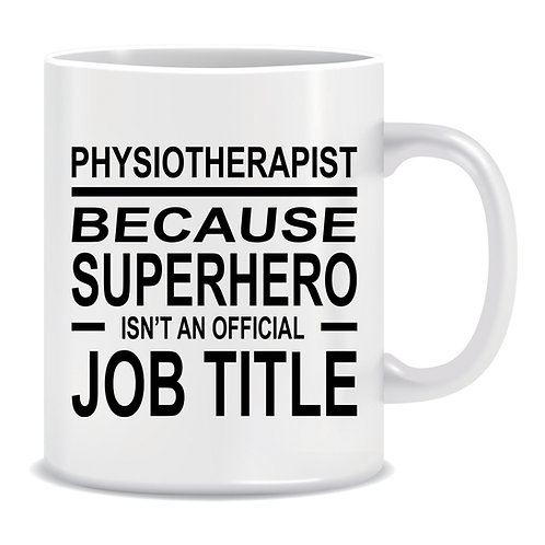 funny printed mug gift for physiotherapists