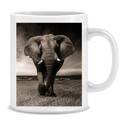 elephant photo mug gift