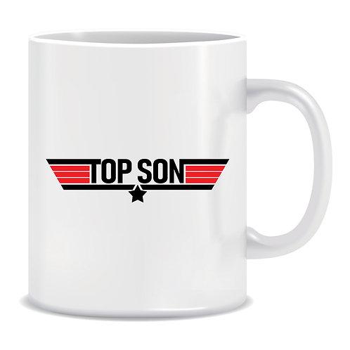 Top Son, Printed Mug
