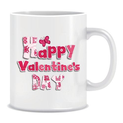 Printed Mug Happy Valentines Day