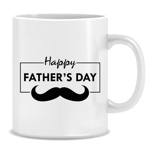 happy fathers day printed mug