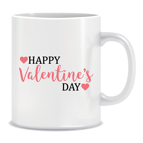Printed Mug Happy Valentines Day