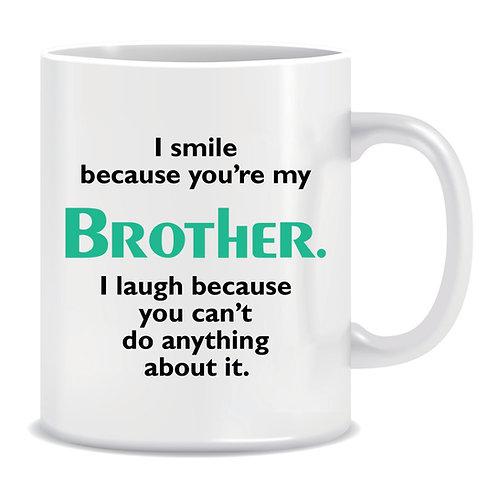 brother printed family mug