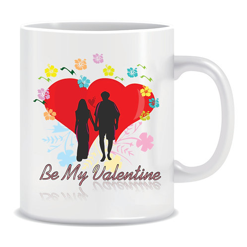 Printed Mug Be My Valentine