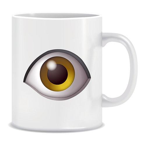 Eye Emoji Printed Mug