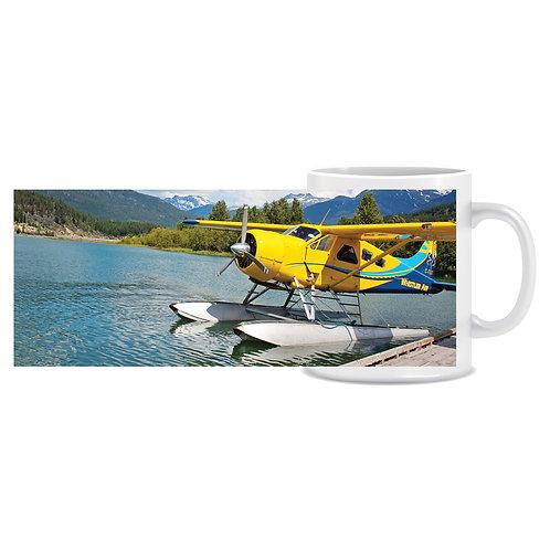 Printed Aviation Mug Beaver Plane Photo
