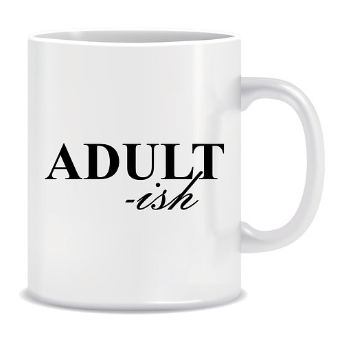 Adultish, Printed Mug