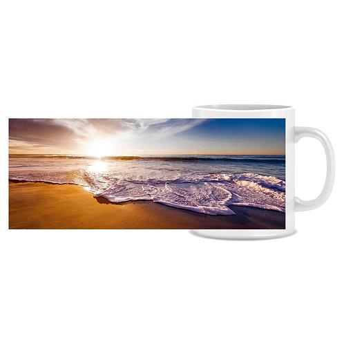 beach sunset photo wraparound mug gift