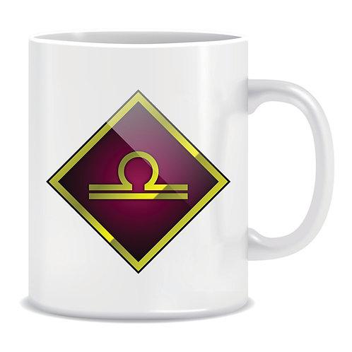 printed mug gift zodiac star sign horoscope libra