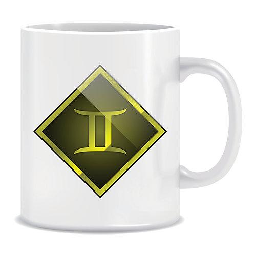 printed mug gift zodiac star sign horoscope gemini
