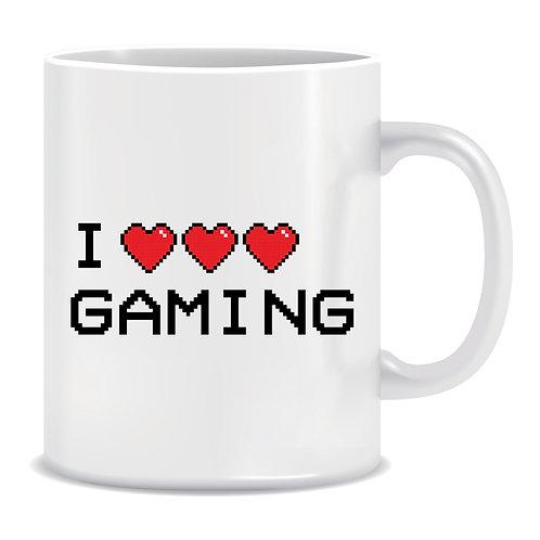 I Love Gaming, Printed Mug
