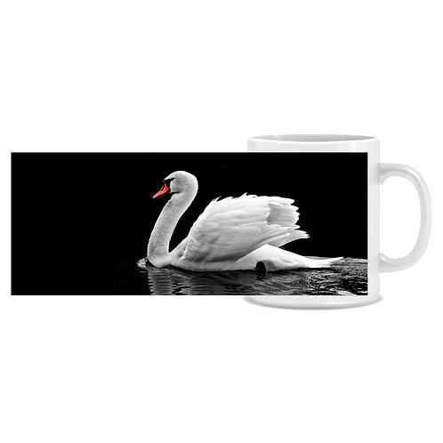 swan photo wraparound mug gift