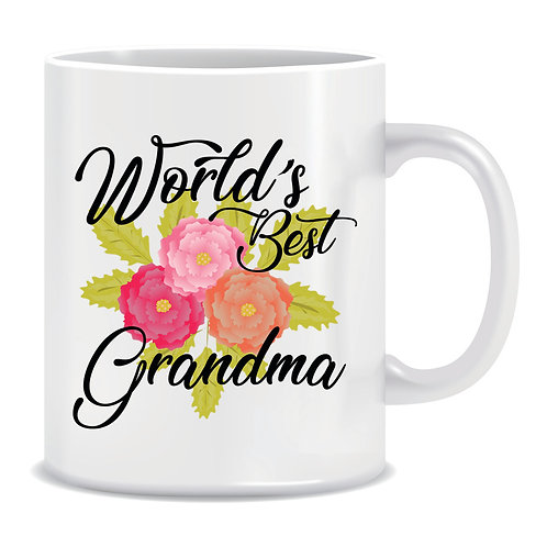 Printed Mug Worls Best Grandma