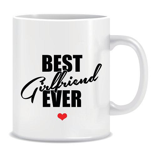printed couple mug best girlfriend ever