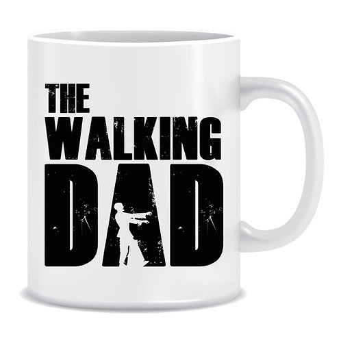 the walking dad printed mug fathers day the walking dead