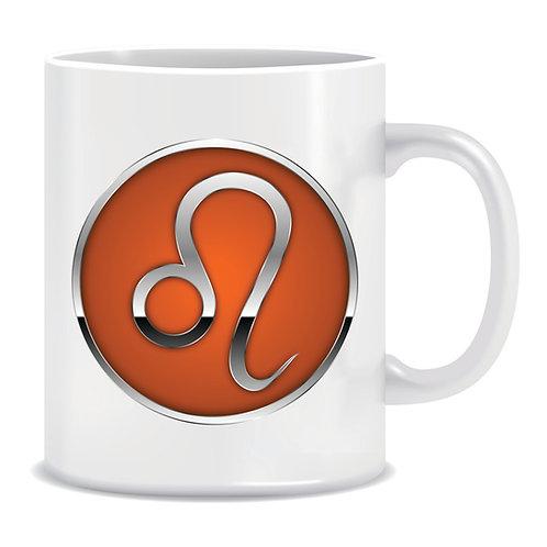 printed mug gift zodiac star sign horoscope leo