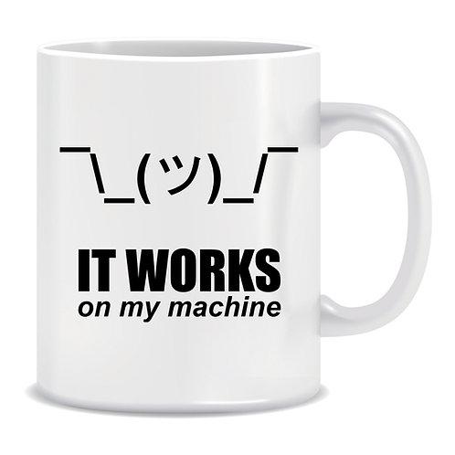 (Mug) Shrug It Works On My Machine