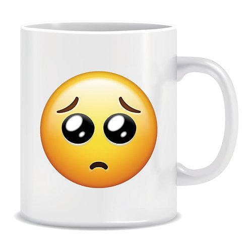 Crying Emoji Printed Mug