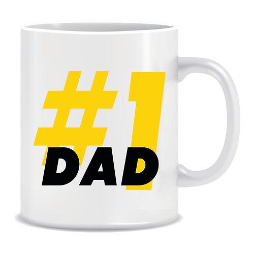 fathers day printed family mug