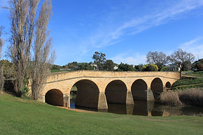 Richmond Bridge, the oldest in-use bridge in Australia