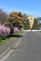 St Luke's Anglican Church, Richmond, Tasmania, Australia