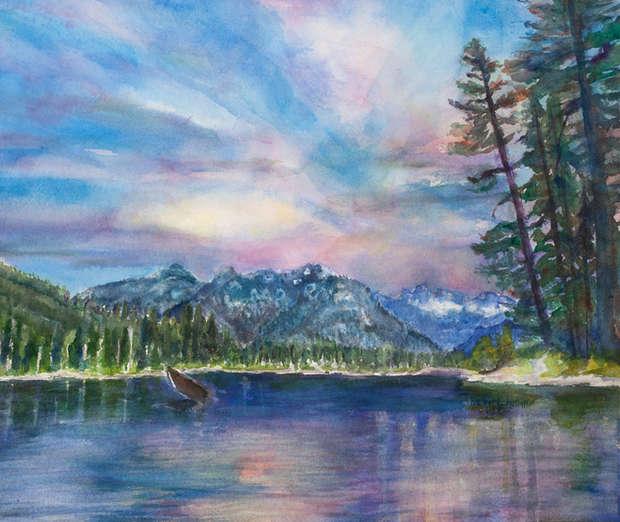Quiet Cooper Lake (19x16).jpg