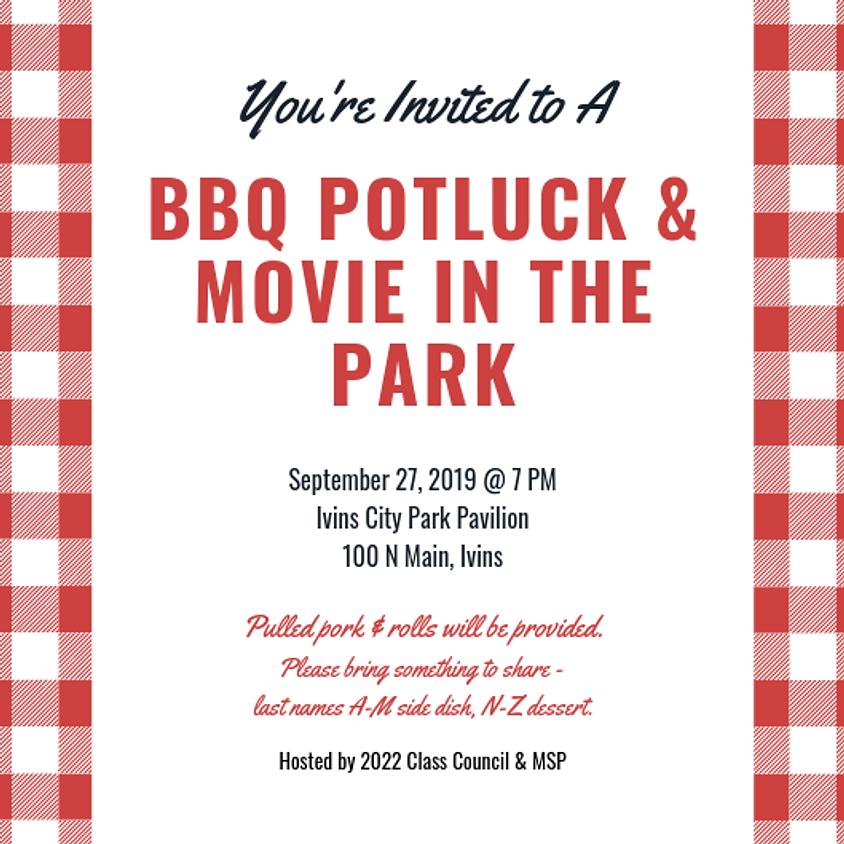 BBQ Potluck & Movie in the Park