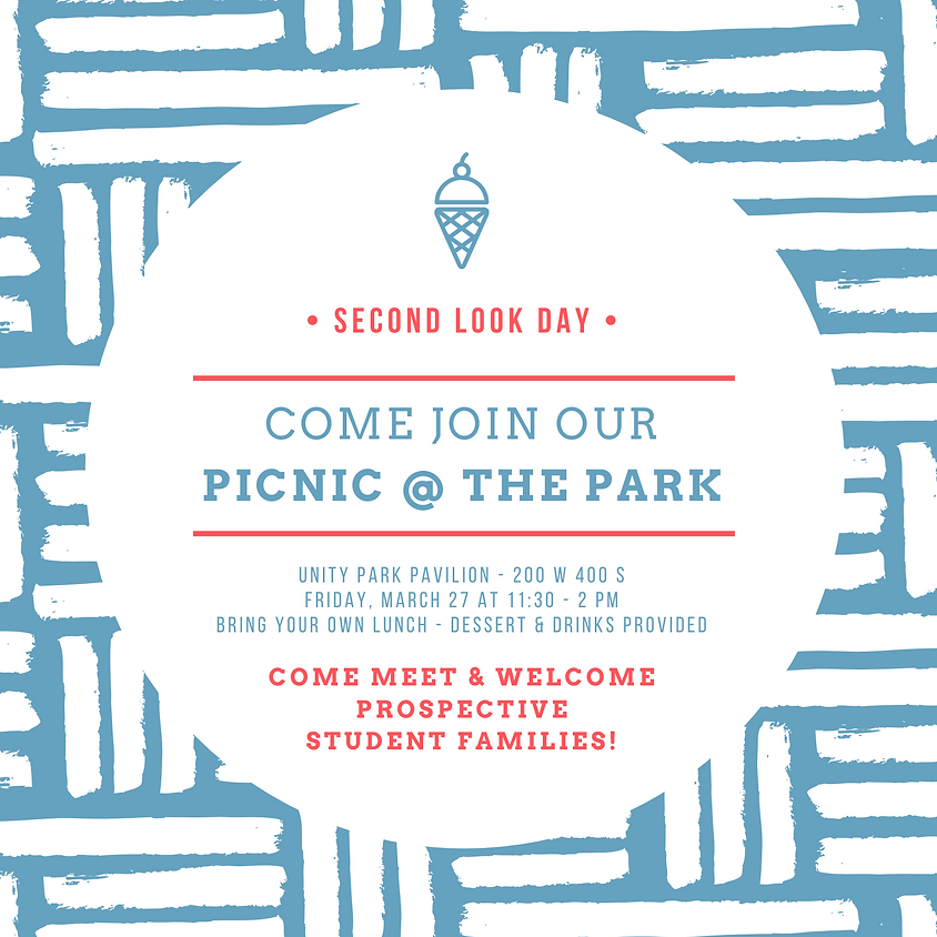 Second Look Day Picnic @ the Park