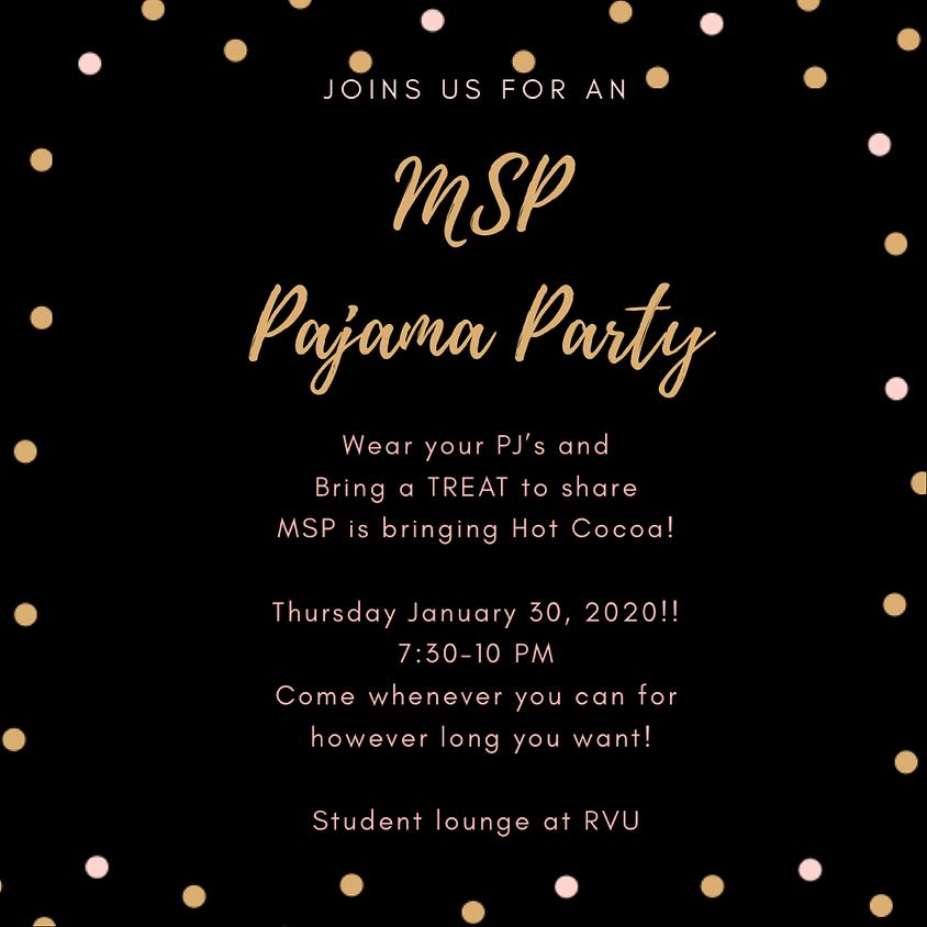 MSP Pajama Party!