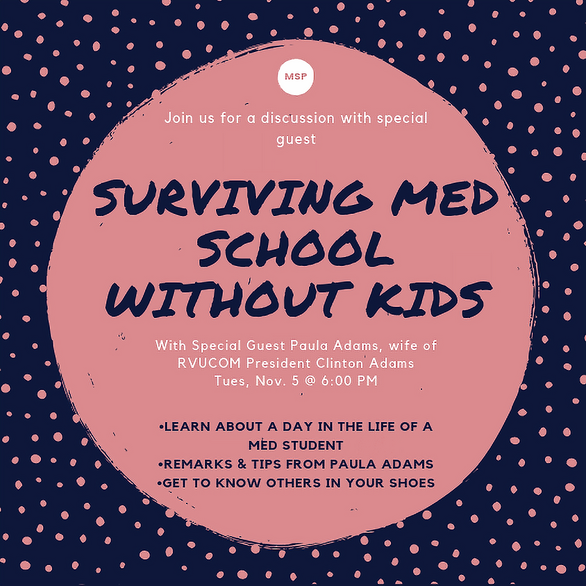 Special Guest Paula Adams on Surviving Med School Without Kids