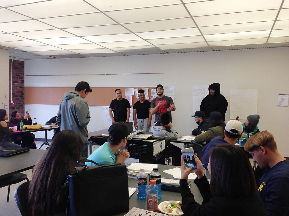 CIPHER Skyline College Legacy 2 Students Presenting