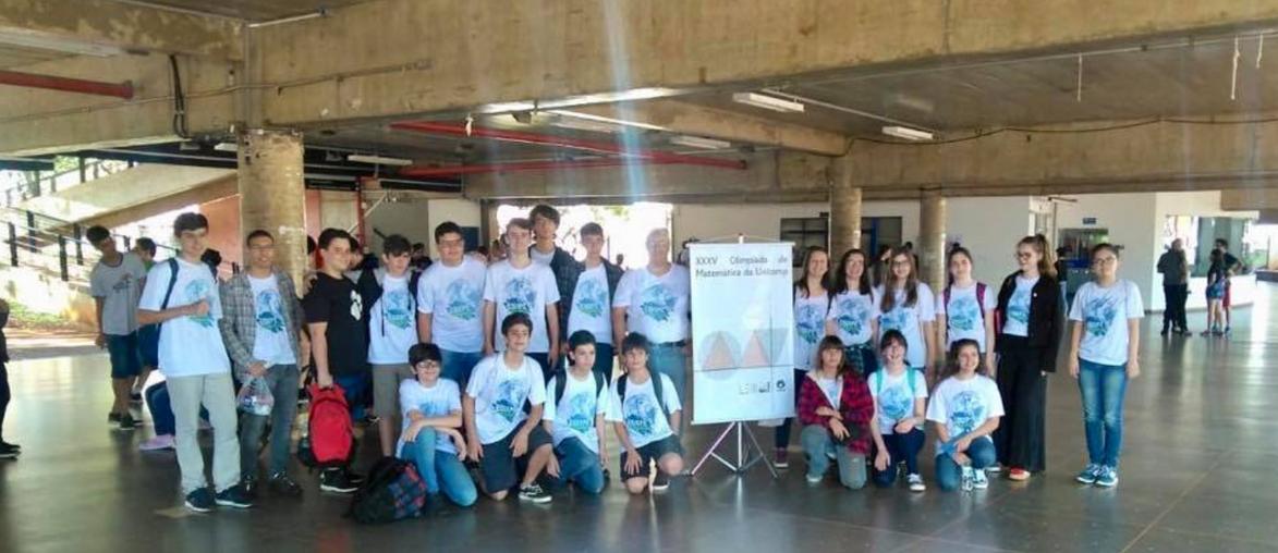 Alunos participam da Olimpíada de Matemática da UNICAMP
