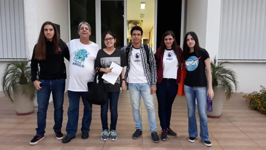 Alunos participam da Olimpíada de Ciências