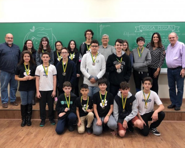 Vencedores da Olimpíada de Matemática Canguru