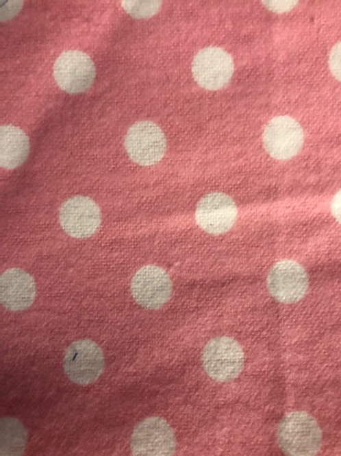 pink polkadots kids mask fits 2-4 yrs