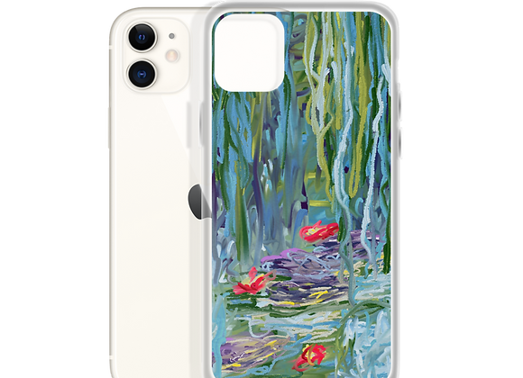 """Water Lily"" 00.2 iPhone Case"