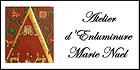 Logo de l'Atelier d'Enluminure Marie Nuel
