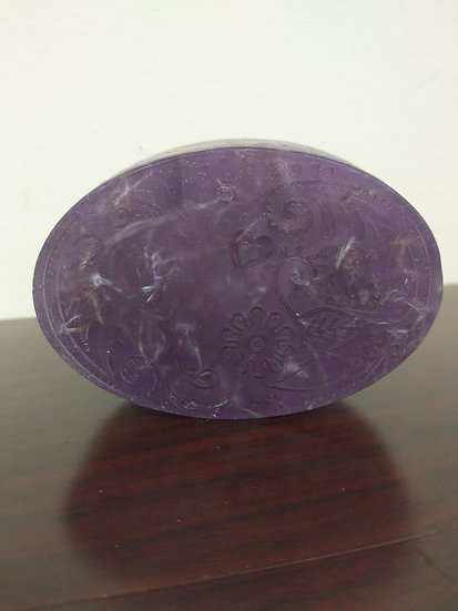 Grape Luffa Soap 3.5oz